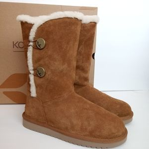 NEW Ugg Koolaburra Kinslei Tall Boots Chestnut
